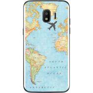 Силиконовый чехол BoxFace Samsung J250 Galaxy J2 (2018) Карта (32874-up2434)