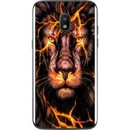 Силиконовый чехол BoxFace Samsung J250 Galaxy J2 (2018) Fire Lion (32874-up2437)