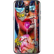 Силиконовый чехол BoxFace Samsung J250 Galaxy J2 (2018) Colorful Girl (32874-up2443)
