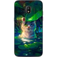 Силиконовый чехол BoxFace Samsung J250 Galaxy J2 (2018) White Tiger Cub (32874-up2452)