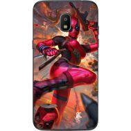Силиконовый чехол BoxFace Samsung J250 Galaxy J2 (2018) Woman Deadpool (32874-up2453)