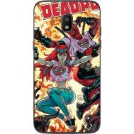 Силиконовый чехол BoxFace Samsung J250 Galaxy J2 (2018) Deadpool and Mary Jane (32874-up2454)