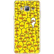 Силиконовый чехол BoxFace Samsung J320 Galaxy J3 Yellow Ducklings (24962-up2428)