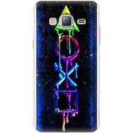 Силиконовый чехол BoxFace Samsung J320 Galaxy J3 Graffiti symbols (24962-up2432)