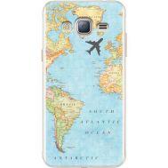 Силиконовый чехол BoxFace Samsung J320 Galaxy J3 Карта (24962-up2434)