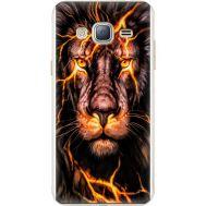 Силиконовый чехол BoxFace Samsung J320 Galaxy J3 Fire Lion (24962-up2437)