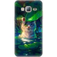 Силиконовый чехол BoxFace Samsung J320 Galaxy J3 White Tiger Cub (24962-up2452)