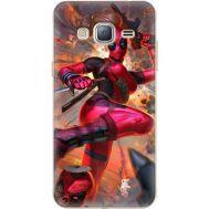 Силиконовый чехол BoxFace Samsung J320 Galaxy J3 Woman Deadpool (24962-up2453)
