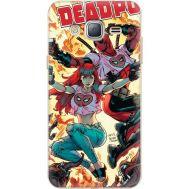 Силиконовый чехол BoxFace Samsung J320 Galaxy J3 Deadpool and Mary Jane (24962-up2454)
