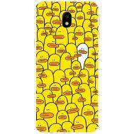 Силиконовый чехол BoxFace Samsung J330 Galaxy J3 2017 Yellow Ducklings (30577-up2428)