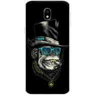 Силиконовый чехол BoxFace Samsung J330 Galaxy J3 2017 Rich Monkey (30577-up2438)