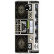 Силиконовый чехол BoxFace Samsung J330 Galaxy J3 2017 Old Boombox (30577-up2446)