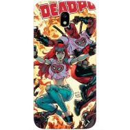 Силиконовый чехол BoxFace Samsung J330 Galaxy J3 2017 Deadpool and Mary Jane (30577-up2454)