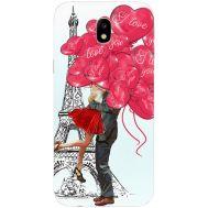 Силиконовый чехол BoxFace Samsung J330 Galaxy J3 2017 Love in Paris (30577-up2460)