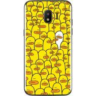 Силиконовый чехол BoxFace Samsung J250 Galaxy J2 (2018) Yellow Ducklings (32874-up2428)