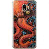 Силиконовый чехол BoxFace Samsung J400 Galaxy J4 2018 Octopus (33860-up2429)