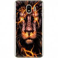 Силиконовый чехол BoxFace Samsung J400 Galaxy J4 2018 Fire Lion (33860-up2437)