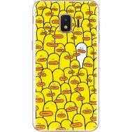 Силиконовый чехол BoxFace Samsung J260 Galaxy J2 Core Yellow Ducklings (35249-up2428)