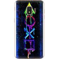 Силиконовый чехол BoxFace Samsung J260 Galaxy J2 Core Graffiti symbols (35249-up2432)