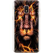 Силиконовый чехол BoxFace Samsung J260 Galaxy J2 Core Fire Lion (35249-up2437)