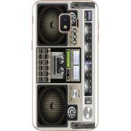 Силиконовый чехол BoxFace Samsung J260 Galaxy J2 Core Old Boombox (35249-up2446)