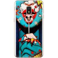 Силиконовый чехол BoxFace Samsung J260 Galaxy J2 Core Girl Pop Art (35249-up2444)