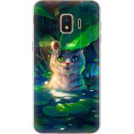 Силиконовый чехол BoxFace Samsung J260 Galaxy J2 Core White Tiger Cub (35249-up2452)