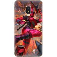 Силиконовый чехол BoxFace Samsung J260 Galaxy J2 Core Woman Deadpool (35249-up2453)