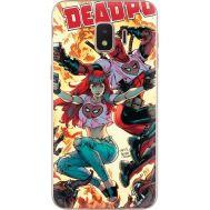 Силиконовый чехол BoxFace Samsung J260 Galaxy J2 Core Deadpool and Mary Jane (35249-up2454)