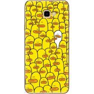 Силиконовый чехол BoxFace Samsung J415 Galaxy J4 Plus 2018 Yellow Ducklings (35411-up2428)