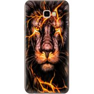 Силиконовый чехол BoxFace Samsung J415 Galaxy J4 Plus 2018 Fire Lion (35411-up2437)