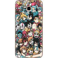 Силиконовый чехол BoxFace Samsung J415 Galaxy J4 Plus 2018 Anime Stickers (35411-up2458)