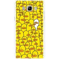 Силиконовый чехол BoxFace Samsung J510 Galaxy J5 2016 Yellow Ducklings (25137-up2428)