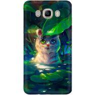 Силиконовый чехол BoxFace Samsung J510 Galaxy J5 2016 White Tiger Cub (25137-up2452)