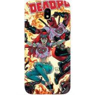 Силиконовый чехол BoxFace Samsung J530 Galaxy J5 2017 Deadpool and Mary Jane (30575-up2454)