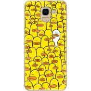 Силиконовый чехол BoxFace Samsung J600 Galaxy J6 2018 Yellow Ducklings (33861-up2428)