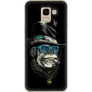 Силиконовый чехол BoxFace Samsung J600 Galaxy J6 2018 Rich Monkey (33861-up2438)