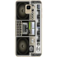 Силиконовый чехол BoxFace Samsung J600 Galaxy J6 2018 Old Boombox (33861-up2446)