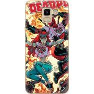Силиконовый чехол BoxFace Samsung J600 Galaxy J6 2018 Deadpool and Mary Jane (33861-up2454)