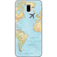 Силиконовый чехол BoxFace Samsung J610 Galaxy J6 Plus 2018 Карта (35408-up2434)