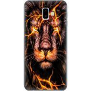 Силиконовый чехол BoxFace Samsung J610 Galaxy J6 Plus 2018 Fire Lion (35408-up2437)