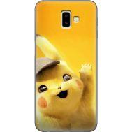 Силиконовый чехол BoxFace Samsung J610 Galaxy J6 Plus 2018 Pikachu (35408-up2440)