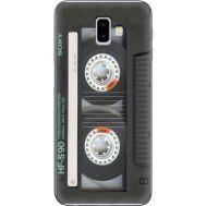 Силиконовый чехол BoxFace Samsung J610 Galaxy J6 Plus 2018 Старая касета (35408-up2445)