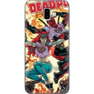 Силиконовый чехол BoxFace Samsung J610 Galaxy J6 Plus 2018 Deadpool and Mary Jane (35408-up2454)