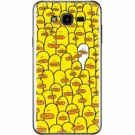 Силиконовый чехол BoxFace Samsung J700H Galaxy J7 Yellow Ducklings (24496-up2428)
