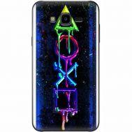 Силиконовый чехол BoxFace Samsung J700H Galaxy J7 Graffiti symbols (24496-up2432)