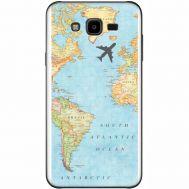 Силиконовый чехол BoxFace Samsung J700H Galaxy J7 Карта (24496-up2434)