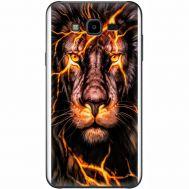 Силиконовый чехол BoxFace Samsung J700H Galaxy J7 Fire Lion (24496-up2437)