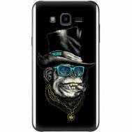 Силиконовый чехол BoxFace Samsung J700H Galaxy J7 Rich Monkey (24496-up2438)