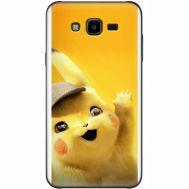 Силиконовый чехол BoxFace Samsung J700H Galaxy J7 Pikachu (24496-up2440)